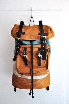 Cool Backpack with lots going on