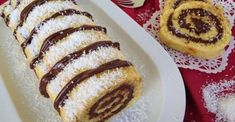 Torta de coco e Nutella. Fica tão docinha… Crepes Nutella, Bolo Fresco, Portuguese Desserts, Pancakes, French Toast, Deserts, Bread, Cooking, Breakfast