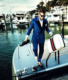 Lapo Elkann (1977) - New York-born Italian. Grandson of Gianni Agnelli, former chairman of Fiat.