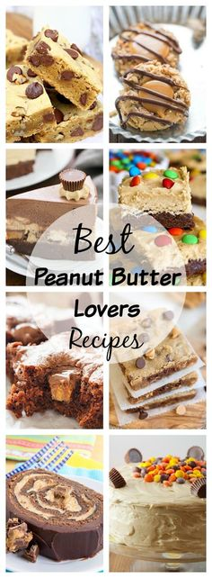 Fabulous Peanut Butter Recipes from my favorite bloggers! So many exquisite options from which to pick. @lizzydo