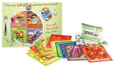 Turn transition time into a nutrition-learning adventure!    Each activity, 5- to 10-minutes long, introduces basic nutrition lessons through creative and fun experiences that get kids thinking about healthy eating.