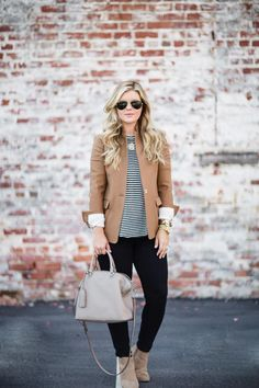 How to Style a Blazer for Fall | The Southern Style Guide