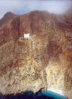 Monastery of Zohoviotisa, Amorgos Island, Greece