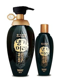 Doori Daeng Gi Meo Ri Oriental Black Shampoo Set (500ml 145ml) For Damaged Hair and Loss Hair, 100% Herbal, Korea No. 1 Hair Care Brand -- Find out more about the great product at the image link.