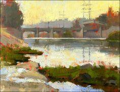 LA River Beach by Jennifer McChristian