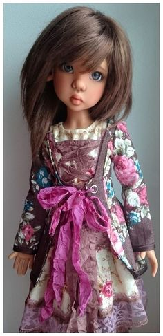 Outfit  for  dolls by  Kaye Wiggs and the same (size MSD) #DollswithClothingAccessories