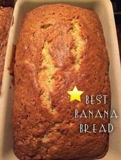 BEST BANANA BREAD Ingredients : cup butter, melted 1 cup white sugar 2 eggs 1 teaspoon vanilla extract 1 cups all-purpose flour 1 teaspoon baking soda teaspoon salt cup sour cream cup chopped walnuts 2 medium bananas, sliced Directions : Preheat oven to Brownie Cookies, Dessert Bread, Dessert Recipes, Fruit Bread, Easy Desserts, Banana Bread Ingredients, Best Banana Bread, Cupcakes, Crockpot