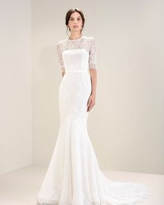 Jesús Peiró Mirtilli - the 2017 collection launched at Barcelona Bridal Fashion Week in April 2016.