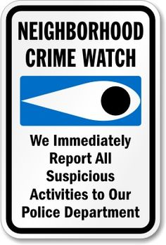 If you love our community and want to be a part of making it a safer and better place to live, For Richmond encourages you to consider starting a Neighborhood Crime Watch.