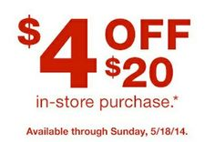 check your email for a possible $4 off $20 coupon from cvs! http://www.iheartcvs.com/2014/05/purchase-based-coupons-issued-to-some.html