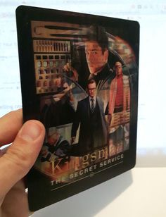 Kingsman The Secret Service magnet 3D lenticular Flip effect for Steelbook