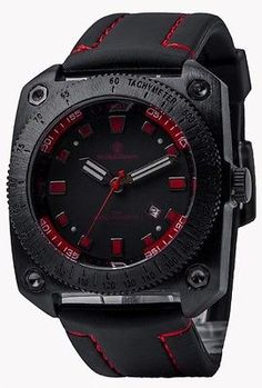 Smith & Wesson Flight Deck Series Sport Men's Watch Stainless Steel Large Face