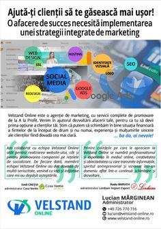 Fii mai aproape de clienții tăi! Fii online! 💻  📱0738 751 444  #RevistabizzclubBrașov #onlinemarketing Fii, Online Marketing