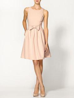 Bow dress. Adorable!