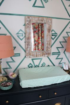 Eclectic nursery ins