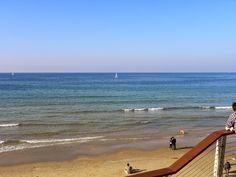 sailboat on the eastern Mediterranean Sea - Tel Aviv, Israel