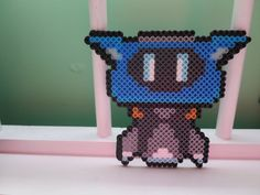 Overwatch Mei's Drone Snowball Perler Bead by CPPsCreations