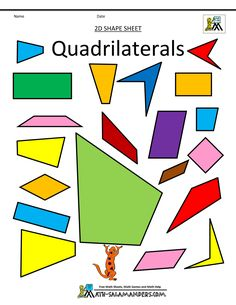 Taxonomy of quadrilaterals lower forms are special cases o math geometric art quadrilaterals color quadrilaterals bw fandeluxe Image collections