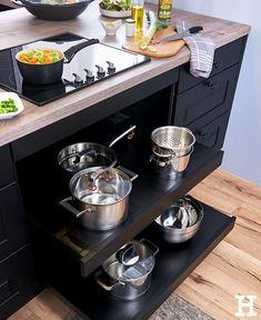 #Tipp Für Die #Küche: Töpfe Und Pfannen Direkt Unter Dem Kochfeld Verstauen,