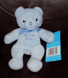 7-034-Carters-BLUE-MY-FIRST-BEAR-Style-8735-Plush-w-tags