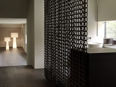 beautiful and simple partition wall