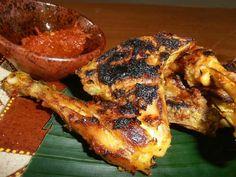 Sasak bbq chicken