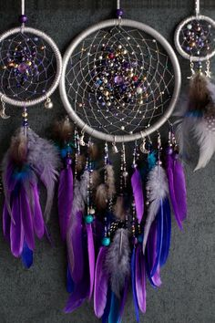 Your place to buy and sell all things handmade Dream Catcher For Car, Blue Dream Catcher, Dream Catcher Decor, Beautiful Dream Catchers, Dreamcatcher Design, Crochet Dreamcatcher, Yarn Wall Art, Yarn Wall Hanging, Car Mirror Decorations