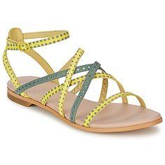 Diese filigranen #sandalen von @Camper sind sommerliche Begleiter und zaubern uns sofort ein Lächeln ins Gesicht. #damenschuhe #mode #trends #gelb