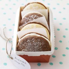Black-and-White Whoopie Pies