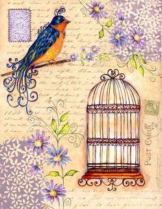 Birdcage ~ Rosemary Hozempa