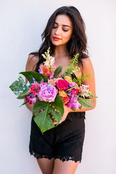 Shay Mitchell Shares Her DIY Pineapple Vase Method | InStyle.com