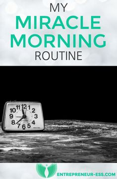 Want to know more about how I keep productive? Check out my latest blog post on my #MiracleMorning Routine #productivity #success #bulletjournal #entrepreneur #entrepreneuress