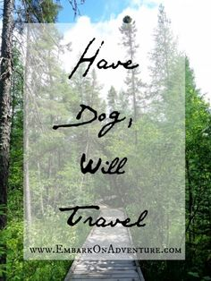 """""""Have Dog, Will Travel."""" Traveling with dogs can be a hassle. But it never dawned on me how inconvenient dog travel was until I took a car trip with my brother on his maiden canine voyage. http://embarkonadventure.com/have-dog-will-travel/"""