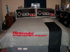 NES Bedding set. We actually want this! looking for some one to make it for us or a place we can buy them.