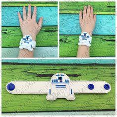 R droid  bracelet wristband costume party favor di MommaCricketz