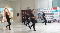 Fidelma's Stompers dancing in Whitewater Shopping Centre in support of June Fest Great Places, Places To Go, Shopping Center, Hanging Out, Centre, Dancing, Photo Wall, June, Frame