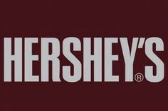 """The Hershey's logo is the text """"Hereshey's"""" in capitals set on the chocolate brown bar. The font is very similar to Swiss 911 Extra Compressed or Helvetica Extra Compressed. Hershey Candy, Hershey Bar, Hershey Chocolate Bar, Dove Chocolate, Taste Of Philly, Instant Win Games, Bold Logo, Famous Logos, Drinking"""