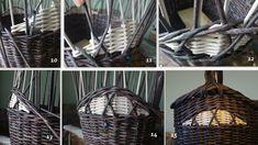 """фрагмент корзины как спести""""язычок"""", чтоб был выпуклый бочок))) – 3 фотографии"""