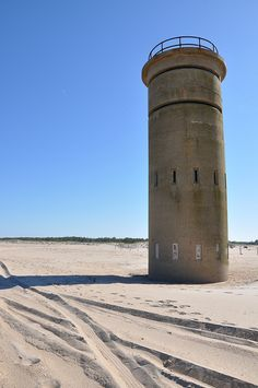WWII Observation Tower, Cape Henlopen Park, Lewes #beach #tower