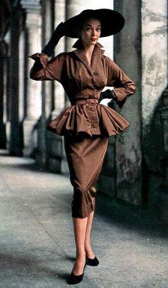 Jean Patchett, Harper's Bazaar 1950.