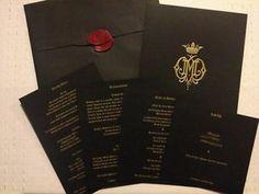 2b000e9d140 wedding invitations Dita Von Teese Wedding