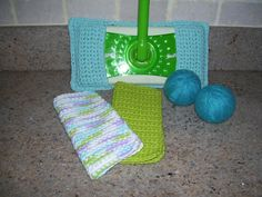 Cool, eco-friendly crocheted household items