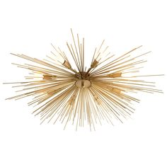 THE WELL APPOINTED HOUSE - Luxuries for the Home - THE WELL APPOINTED HOME Roxanne Antique Brass Flush Mount