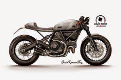 RocketGarage Cafe Racer: Ducati Desmo from Ducati Scrambler