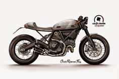 RocketGarage Cafe Racer: Ducati Desmo from Ducati Scrambler