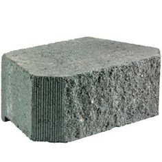 Pavestone RockWall Large 6 in. x 17.5 in. x 7 in. Palomino Concrete Retaining Wall Block-79881 - The Home Depot