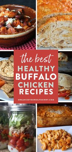 The Best Healthy Buffalo Chicken Recipes | Healthy Summer Recipes - Looking for some delicious healthy low-fat Buffalo chicken recipes?Here you'll find everything from the classic Buffalo chicken sub to super fun recipes like Buffalo chicken quinoa bake or Buffalo chicken lasagna rolls. Organize Yourself Skinny | Skinny Recipes | Healthy Family Recipes | Healthy Chicken Recipes | Healthy Recipes | Meal Prep Recipes | Meal Planning | Recipes for Weight Loss Quick Healthy Lunch, Healthy Freezer Meals, Healthy Summer Recipes, Healthy Meal Prep, Healthy Chicken Recipes, Turkey Recipes, Clean Dinner Recipes, Dinner Recipes Easy Quick, Fast Recipes