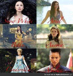 Disney Princesses-Once Upon A Time Version