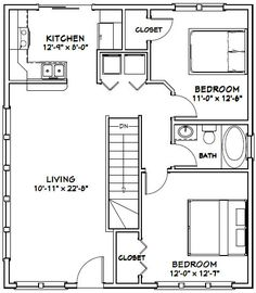 Plan 21204dr compact carriage house plan carriage house for 28x32 floor plan