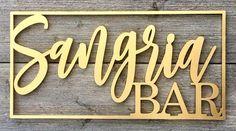 PLACA PARA DECORAR LOJA OU BARZINHO CASEIRO – O letreiro pode ser de mdf para ambientes interiores ou chapa de metal para fachadas exteriores de bares. As placas de cores metalizadas são pres…
